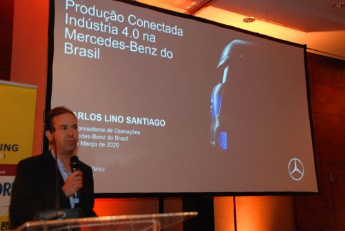 Carlos Santiago Vice President Operations  Mercedes-Benz do Brasil