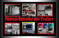 Trailer lanche Food truck Baixinho dos Trailers