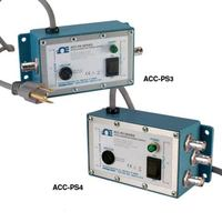 ACC-PS3A_ACC-PS4A: Accelerometer Power Supplies/Amplifiers, AC Powered Single Channel and Triaxial